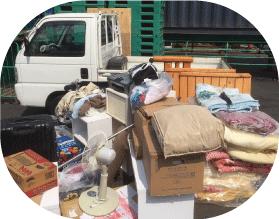 軽トラック積み放題プランで回収できる不用品の物量