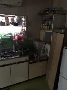 キッチン 処分